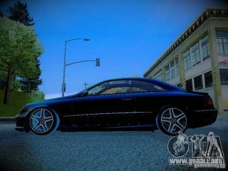 Mercedes-Benz CLK 55 AMG Coupe para GTA San Andreas left