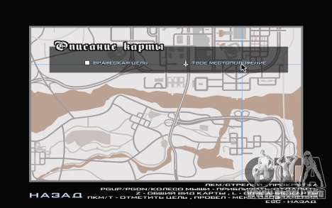 GTA V map para GTA San Andreas quinta pantalla