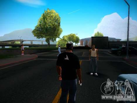 Cambiar los caracteres para GTA San Andreas sucesivamente de pantalla