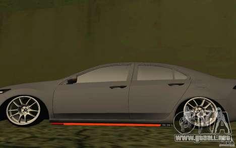 Honda Accord para vista lateral GTA San Andreas