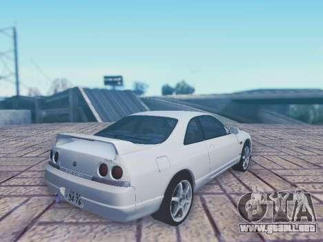 Nissan Skyline ECR33 para GTA San Andreas left