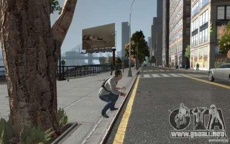 Desmond Miles de AC3 para GTA 4 adelante de pantalla