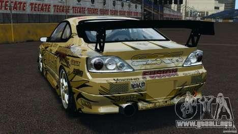 Nissan Silvia S15 D1GP TOP SECRET para GTA 4 Vista posterior izquierda