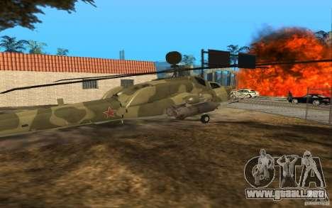 MI-28n para la visión correcta GTA San Andreas