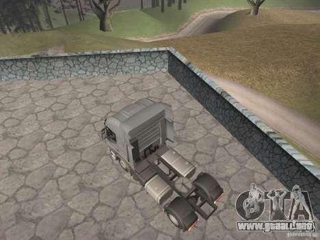 Iveco Stralis GTS para GTA San Andreas left