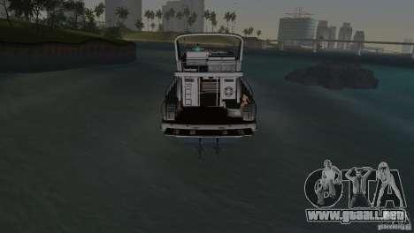 Barco para GTA Vice City vista lateral