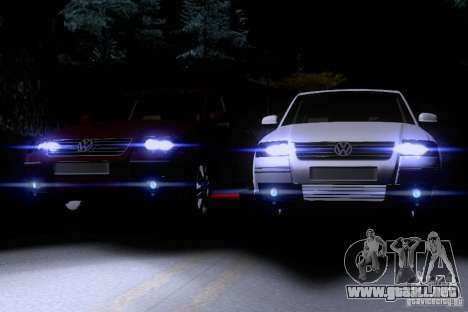 Volkswagen Passat B5+ para GTA San Andreas interior