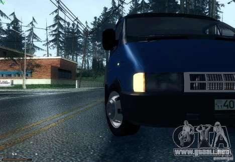 Gacela 33021 para la visión correcta GTA San Andreas