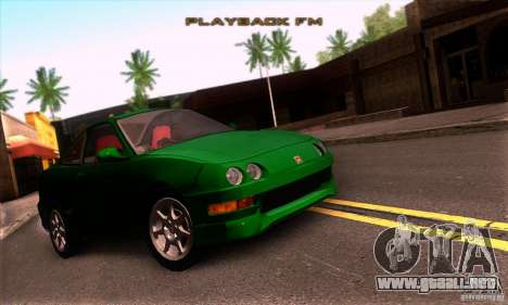 Honda Integra Tunable para GTA San Andreas