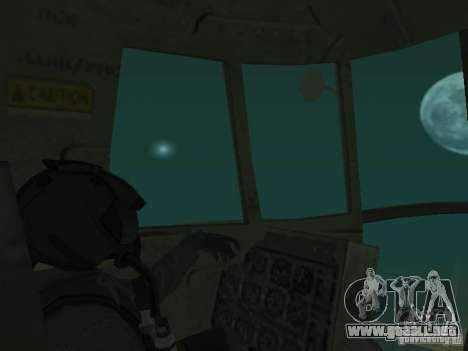 Piloto para GTA San Andreas quinta pantalla