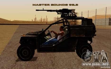 VDV Buggy de Battlefield 3 para la visión correcta GTA San Andreas