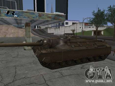 PT-SAU T95 para GTA San Andreas vista hacia atrás