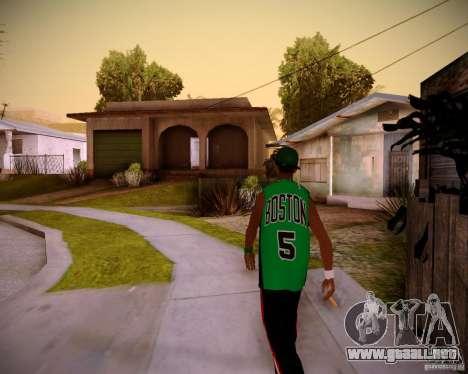 Skins pack gang Grove para GTA San Andreas segunda pantalla
