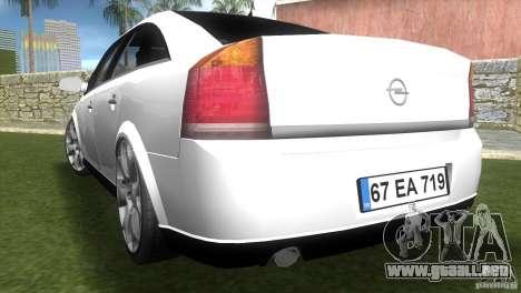 Opel Vectra para GTA Vice City left