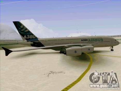 Airbus A380-800 para visión interna GTA San Andreas