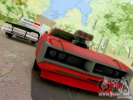 Dodge Monaco 1974 California Highway Patrol para visión interna GTA San Andreas