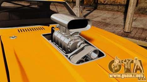 Dodge Charger RT 1970 para GTA 4 visión correcta