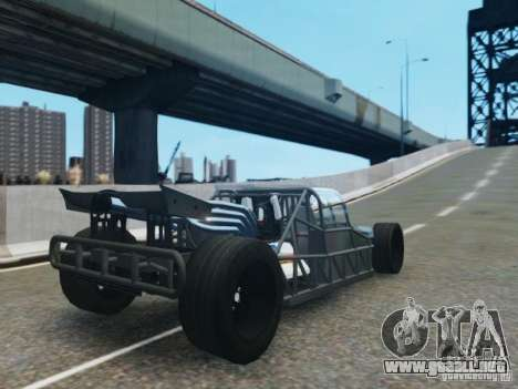 Villain The Fast and the Furious 6 para GTA 4 Vista posterior izquierda