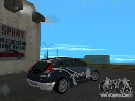 Volvo C30 Race para GTA San Andreas left