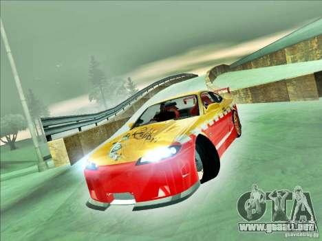Nissan Silvia S15 Calibri-Ace para GTA San Andreas vista posterior izquierda