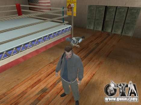 El sistema de combate de GTA IV V 2.0 para GTA San Andreas segunda pantalla