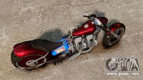 Dragbike Street Racer para GTA 4 visión correcta