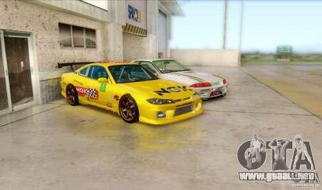 Nissan Silvia S15 NGK para GTA San Andreas