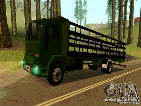 Ford Cargo para GTA San Andreas left