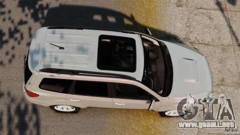 Subaru Forester 2008 XT para GTA 4 visión correcta