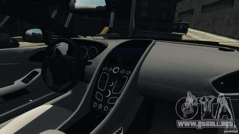 Aston Martin Vanquish 2013 para GTA 4 vista interior