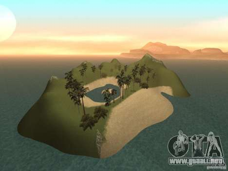 Volcano para GTA San Andreas
