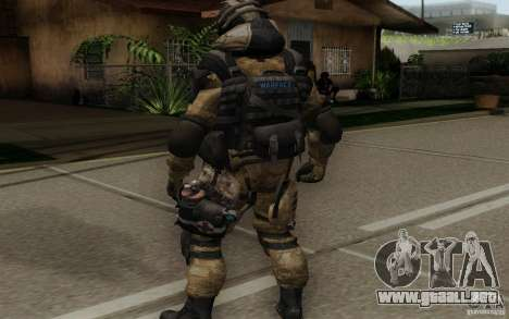 El médico de Warface para GTA San Andreas tercera pantalla