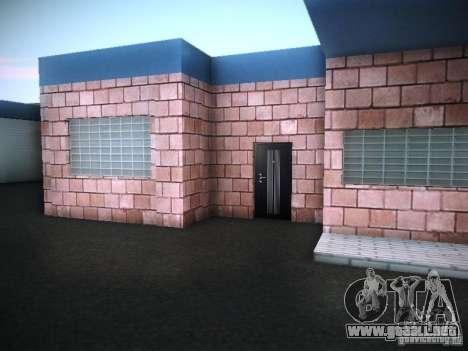 Nuevo garaje en San Fierro para GTA San Andreas sucesivamente de pantalla