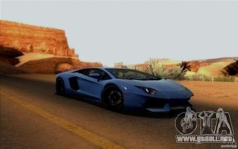 RoSA Project v1.0 para GTA San Andreas quinta pantalla