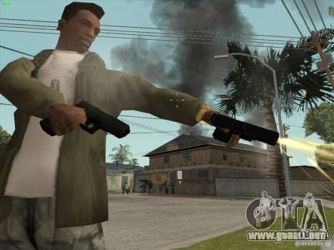 Pistola G18 para GTA San Andreas