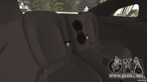 Nissan GT-R 2012 Black Edition para GTA 4 vista lateral