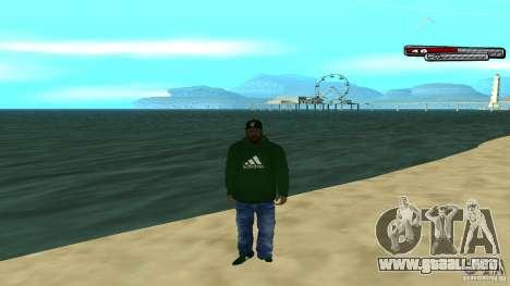 Sweet para GTA San Andreas quinta pantalla