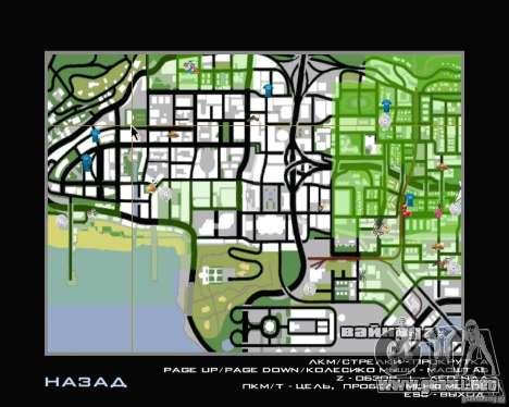 Nuevo HUD para GTA San Andreas segunda pantalla