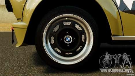 BMW 2002 Turbo 1973 para GTA 4 vista hacia atrás