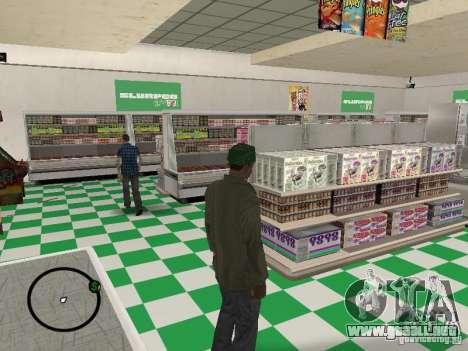 Nuevos restaurantes de texturas para GTA San Andreas tercera pantalla