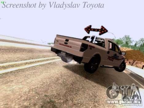 Ford F-150 Road Sheriff para la visión correcta GTA San Andreas