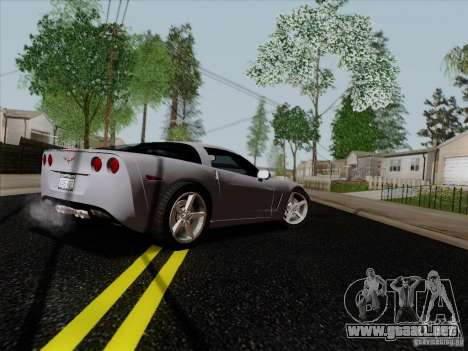 Chevrolet Corvette Z51 para la visión correcta GTA San Andreas