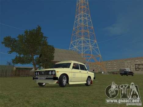 VAZ 2106 Sparco Tuning para GTA Vice City visión correcta