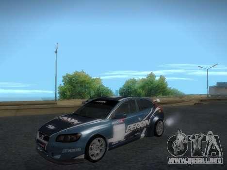 Volvo C30 Race para visión interna GTA San Andreas