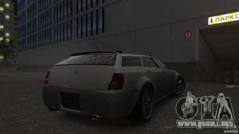 PMP600 Sport Wagon para GTA 4 vista hacia atrás