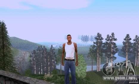 Carl Johnson can talk para GTA San Andreas