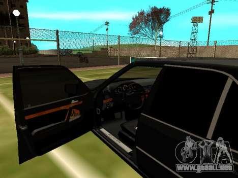 Mercedes-Benz S400 SE W140 para visión interna GTA San Andreas