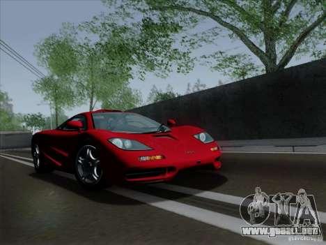 McLaren F1 1994 v1.0.0 para GTA San Andreas left
