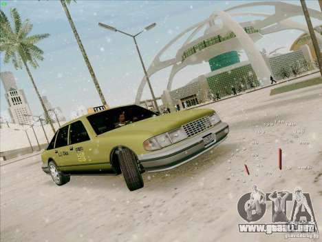 HD Taxi SA de GTA 3 para GTA San Andreas left