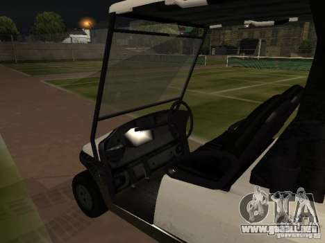 Carrito de GTA TBoGT para la visión correcta GTA San Andreas